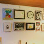 まちなか山荘日記|暮らしにアートを 壁の役目