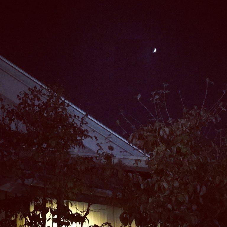 まちなか山荘 夜空