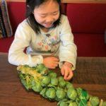 まちなか山荘日記|はじめての芽キャベツ料理