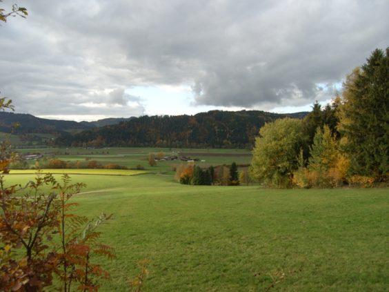 ドイツのシュバルツバルト=黒い森と田園風景