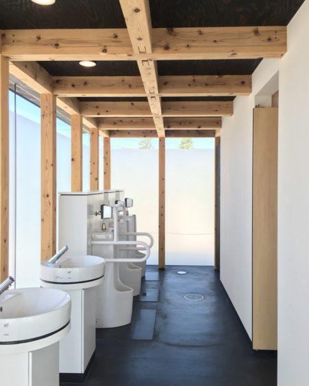 うみがたり男子トイレ
