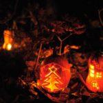 11月16日かぼちゃランタンで こびとの村づくり