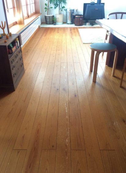 10年 杉の床