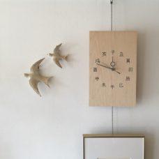ナチュールさんから俯瞰図の御礼にいただいた鳥の飾り