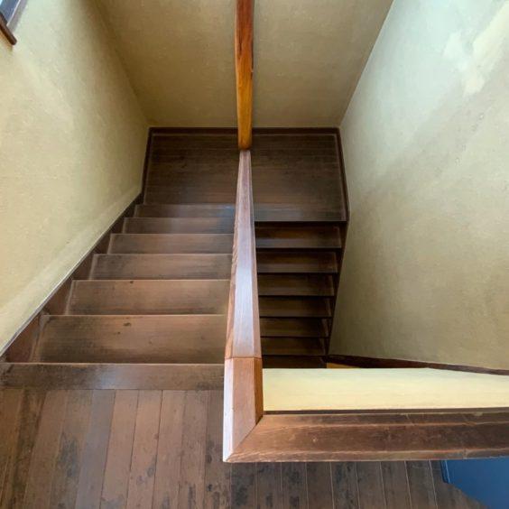 小林古径邸階段