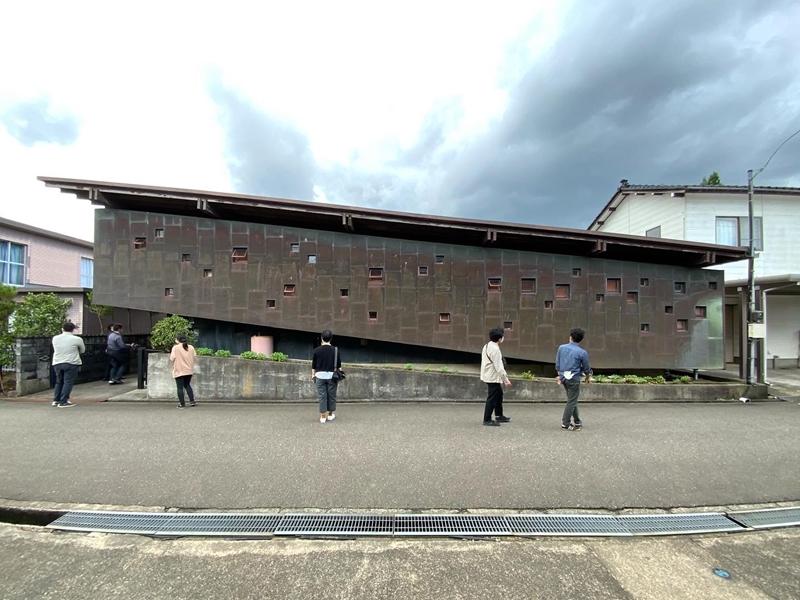 渡邊洋治設計 斜めの家
