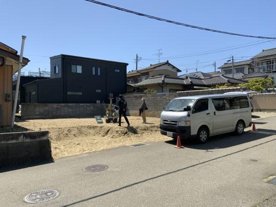 寺尾上のまちなか山荘 地盤調査 (4)
