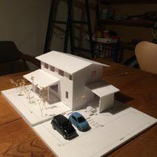 寺尾上のまちなか山荘 模型