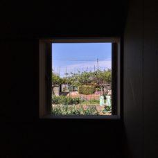 小窓の眺め 小杉のまちなか山荘