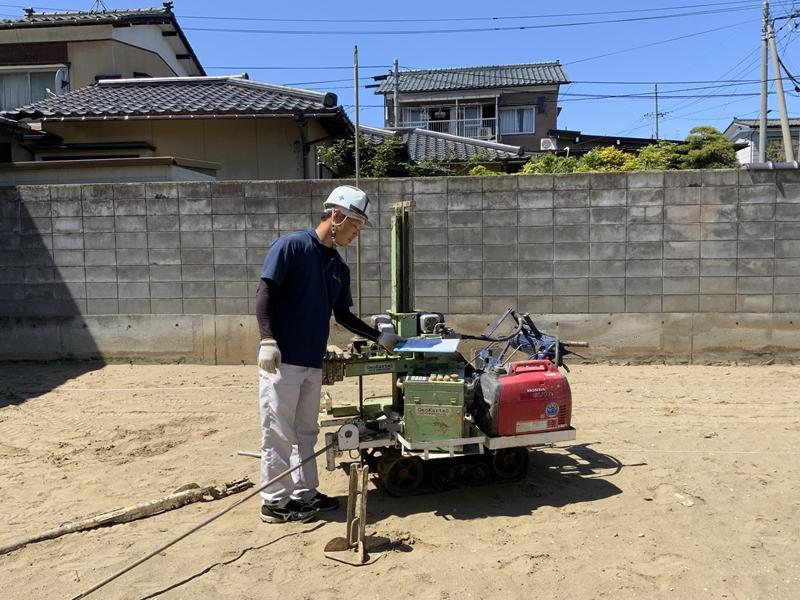 寺尾上のまちなか山荘 地盤調査 (2)