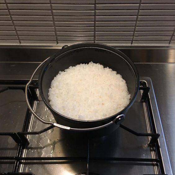 コンボダッチデュオと炊き上がり